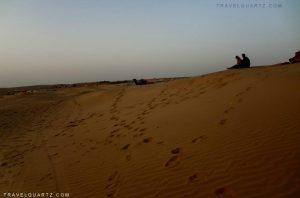 Sam Desert Rajasthan Jaisalmer India