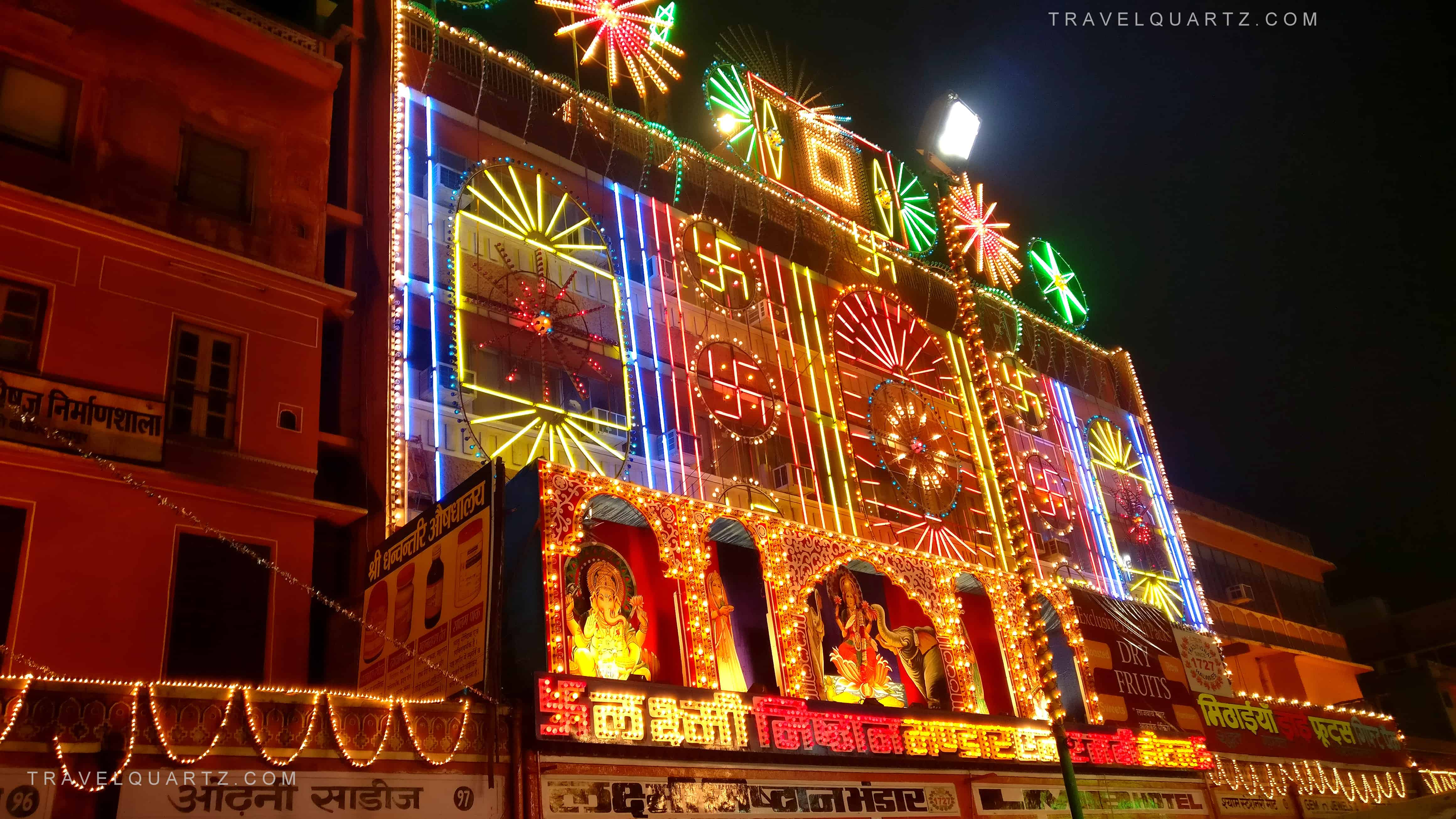 Jaipur Pink City in Diwali Blog