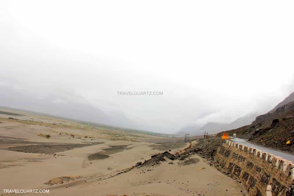 Hunder Sand Dunes Ladakh India